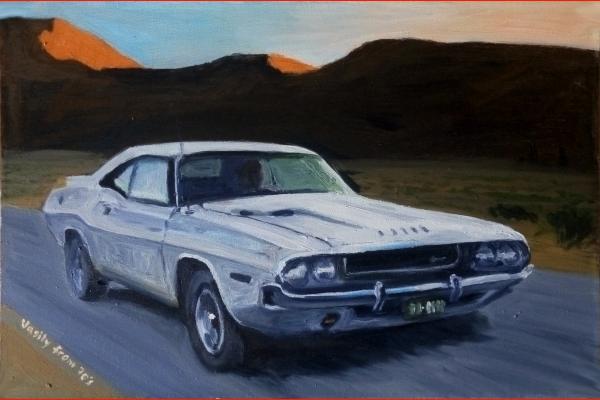 Картина Dodge Challenger