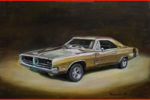 Картина Dodge Charger