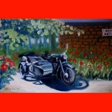 Картина Мотоцикл М-61