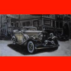 Картина Сadillac v12 1932