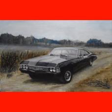 Картина Chevrolet Impala Coupe